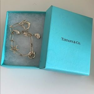 Tiffany Elsa Peretti Charm Bracelet